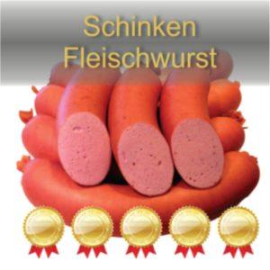 Schinkenfleischwurst